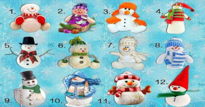 Выберите снеговика и получите свое предсказание на зиму!