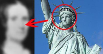 Только несколько людей в мире знают, КОМУ на самом деле принадлежит лицо статуи Свободы…