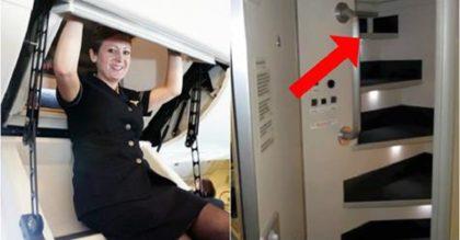 Знаете ли Вы, где отдыхают стюардессы во время длительного полета?