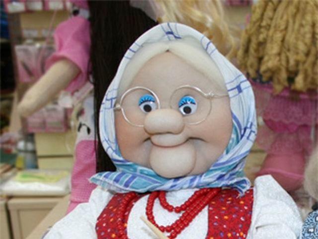 Чулочная кукла бабушка своими руками мастер класс 66